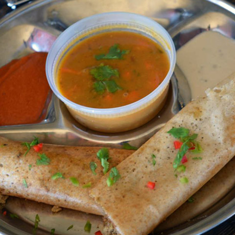 Chicken Keema Dosa
